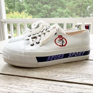 Vintage DR SEUSS Leather Oxford Sneakers